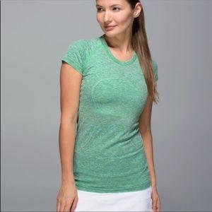 Lululemon Swiftly Short Sleeve EUC - Pistachio 10